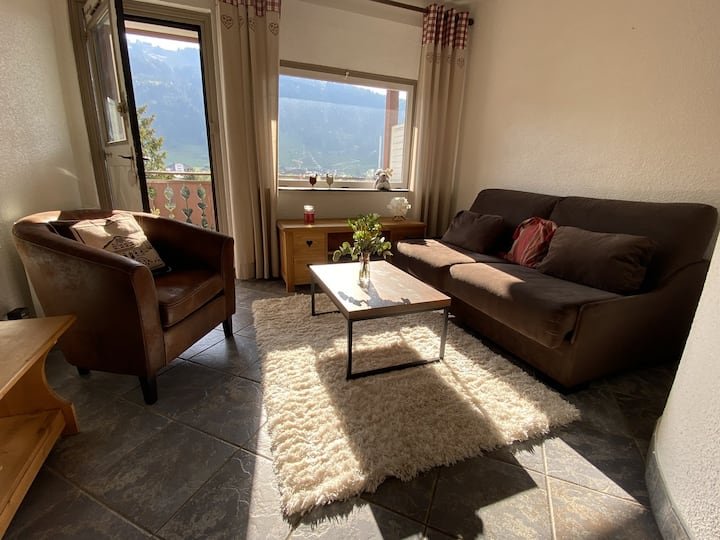 DUPLEX WITH MAGNIFICENT VIEWS IN AN INCOMPARABLE RESIDENCE IN MORZINE