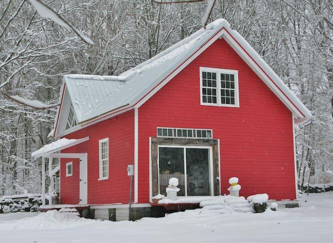 The Catskills Red Barn