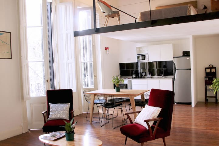 Amazing  New Loft - Historical Building, San Telmo