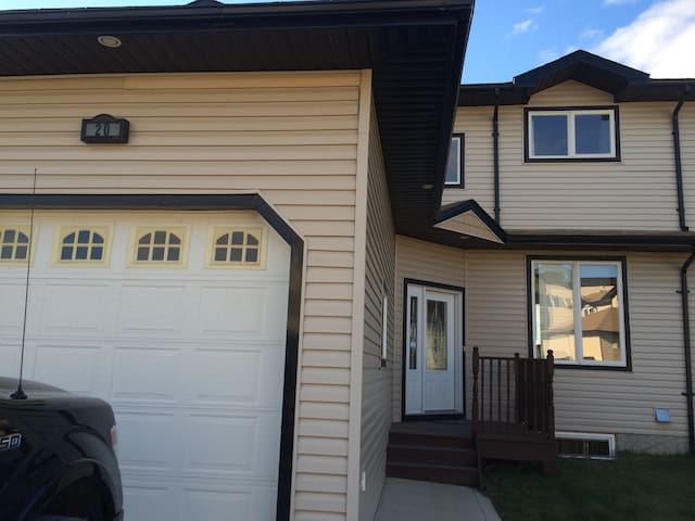 Front Entrance with One car garage