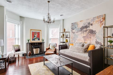 Historic Central Park Apartment with Beautiful View