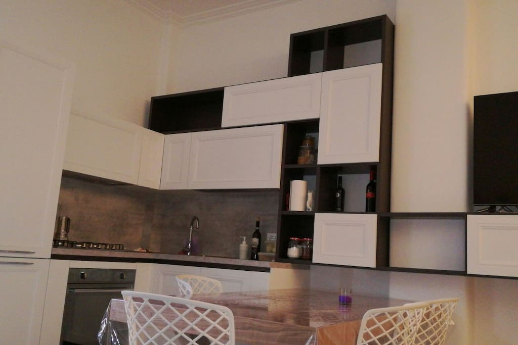 Well equipped design kitchen
