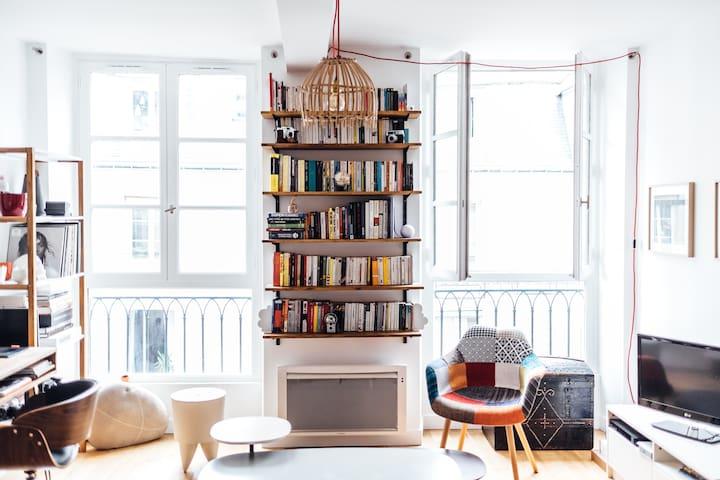 Spacieux 2P design au coeur du Fbg Saint-Denis - 巴黎 - 公寓