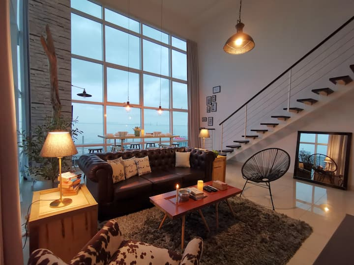 Penang Bridge View Urban Suite @ 日出无敌海景套房