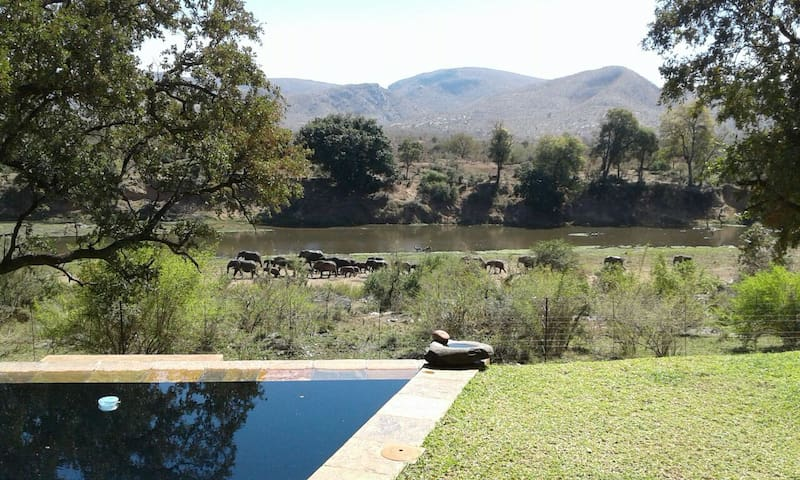 New: Elephant & Marula with Kruger Park View. - Malelane - House
