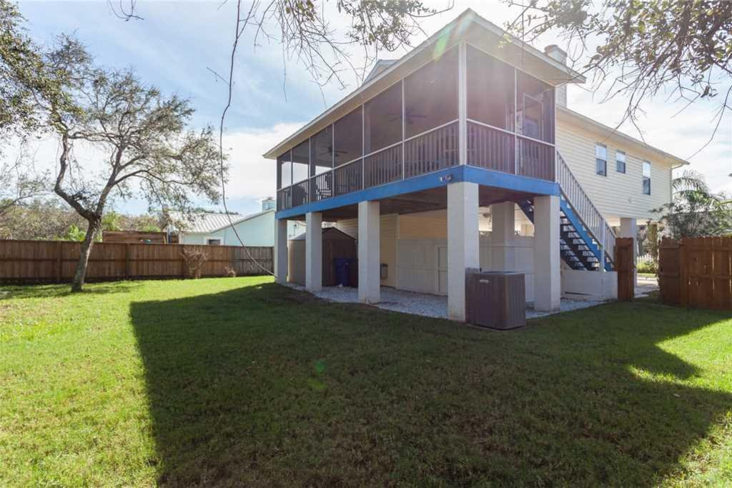 The Great Outdoors - Island Breeze is pet-friendly and features a private, fenced-in yard, perfect for running around with your f