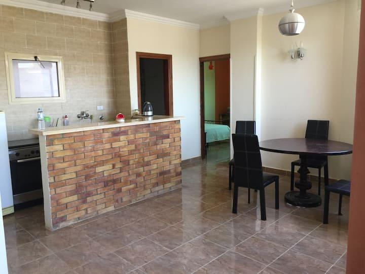 Квартира в Хургаде в 15 мин ходьбы от Красного моря