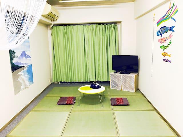 Renew!Tatami,3min walk from station(Y) - Shinjuku - Apartment