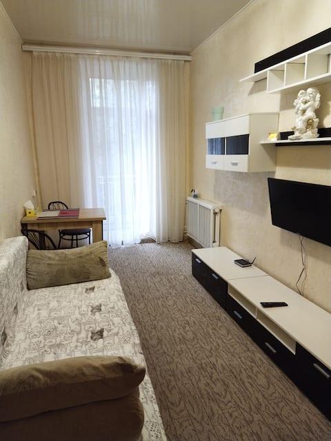 2-x комнатная квартира в центре города