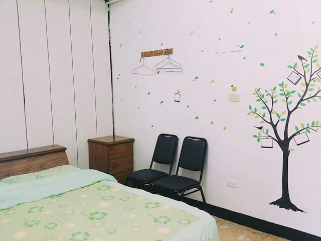 小樹雙人房 Trees double room - TW - Casa