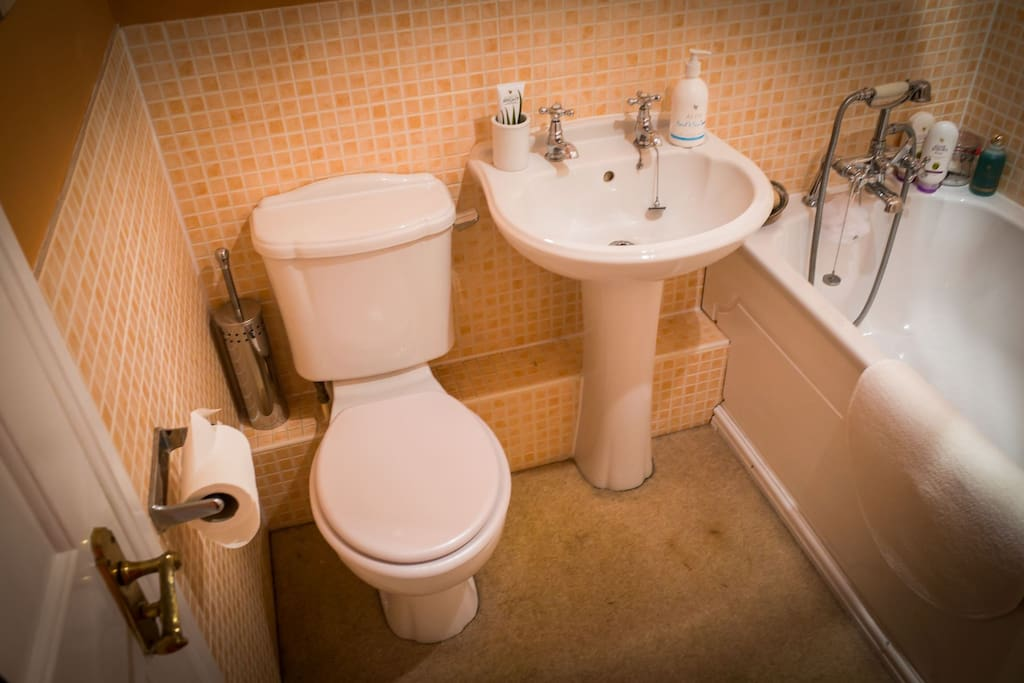 Private use of own bathroom.