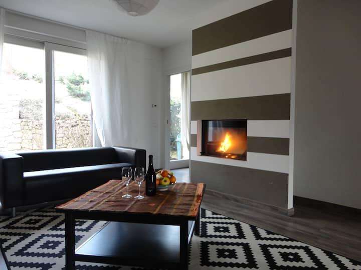 Elegante casa indipendente con giardino