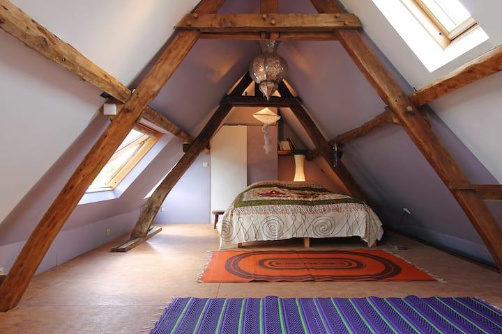 Chambre lumineuse, zen, romantique