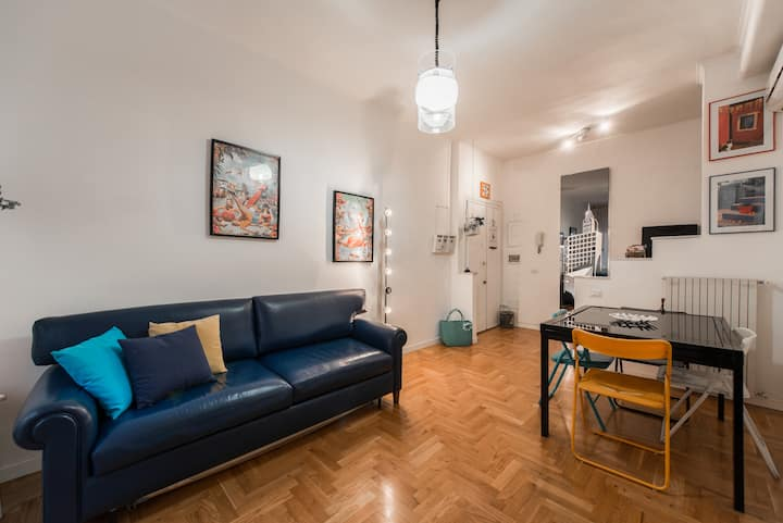 Cozy apartment in Rome next to Subway B