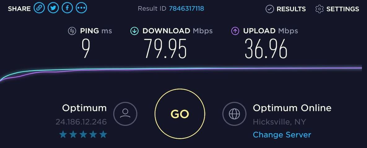 Hi Speed Wi-Fi