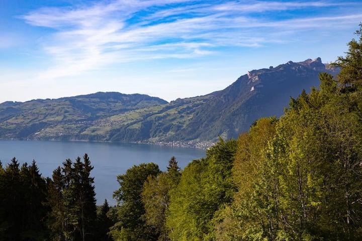 Z Aeschiried - Berghaus Seeblick (No 34) lake view