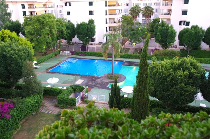 Apartment with pool and terrace! Winter Offer - Palma - Apartamento