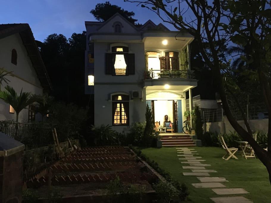 Homestay at night