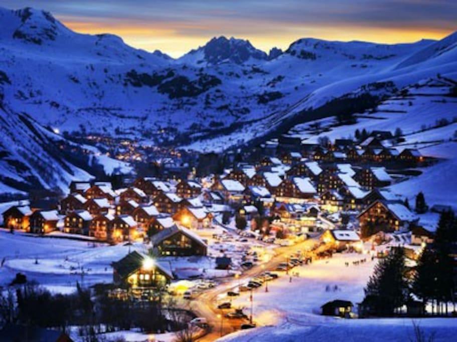 Espectacular pueblo de montaña