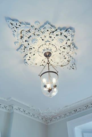 Original ceiling detail