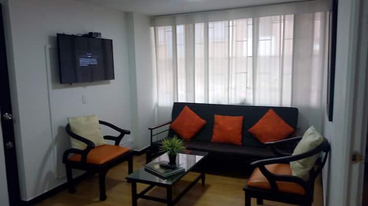 Confortable apartamento totalmente amoblado