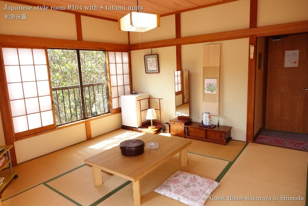 Japanese style room with 8 tatmi mats