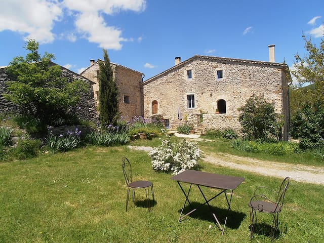 Cottage and pool in Provence - Banon - House