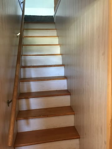 Stairs to bedroom three