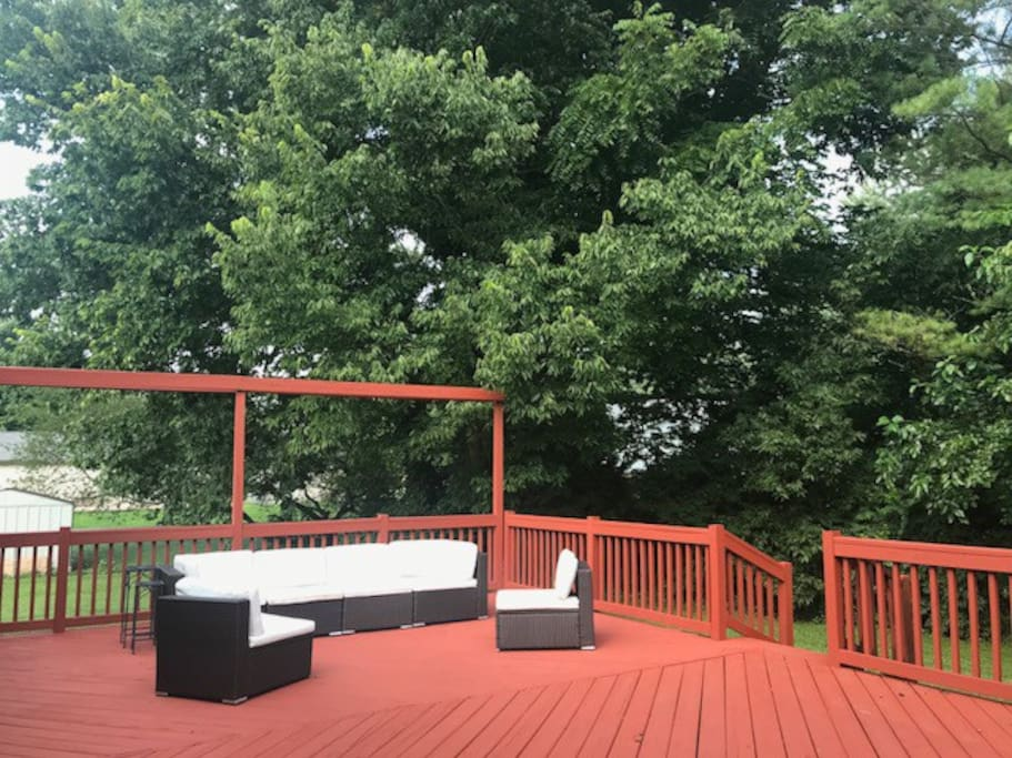 Newly Stained Deck  09/01/'18