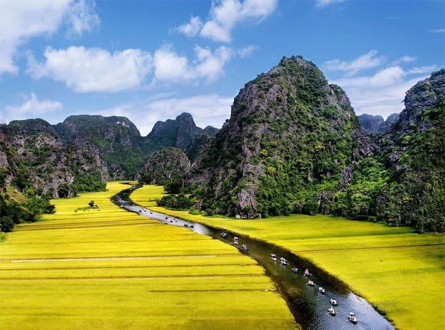 Hoa Lu Tam Coc 1 Day tour - Hanoi - Muu