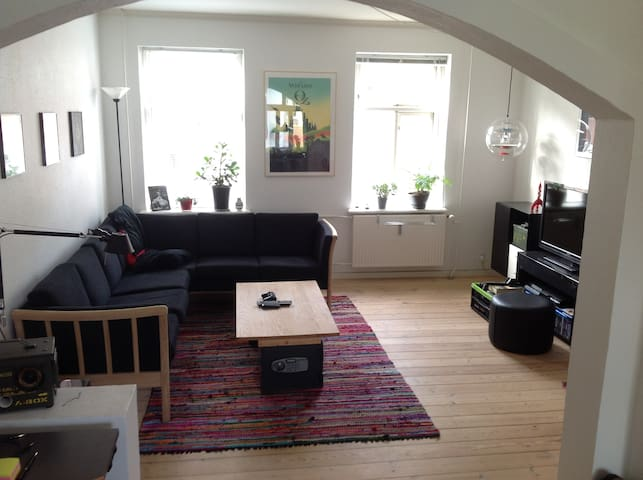 Light, central and roomy apartment - Aarhus - Apartment