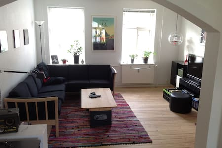 Light, central and roomy apartment - Aarhus - Appartamento