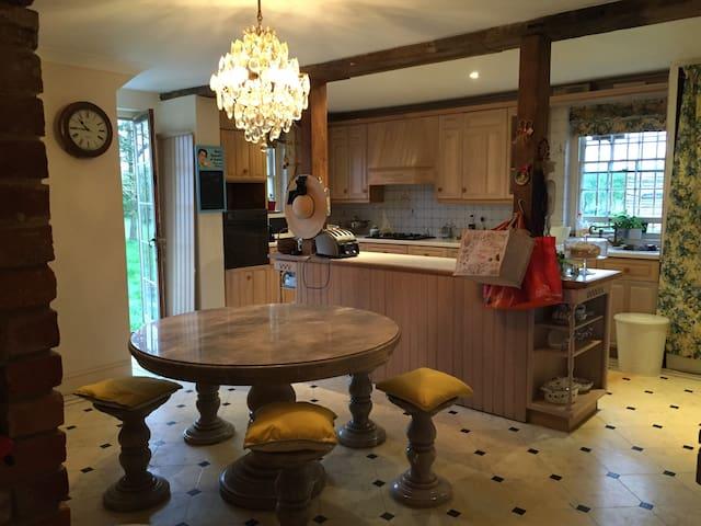 Twin en-suite room in Farmhouse - Woodstock - Casa