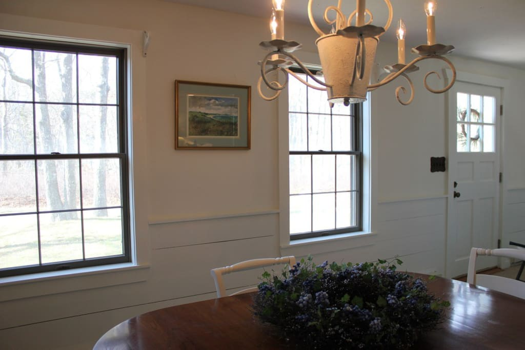 Formal dining room if you prefer to sit at a table and not the breakfast bar.