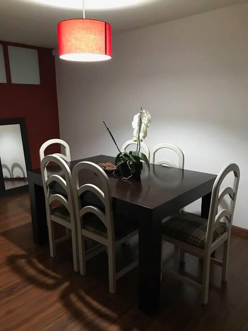 Dining room. Led Light.