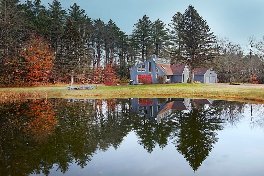 Expansive property with pond