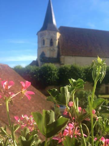 Chambre privée dans maison de Bourg - Parly - Casa
