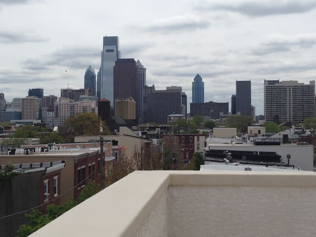 Large Home: 0.9 mls from Pope Visit - Philadelphia - Casa