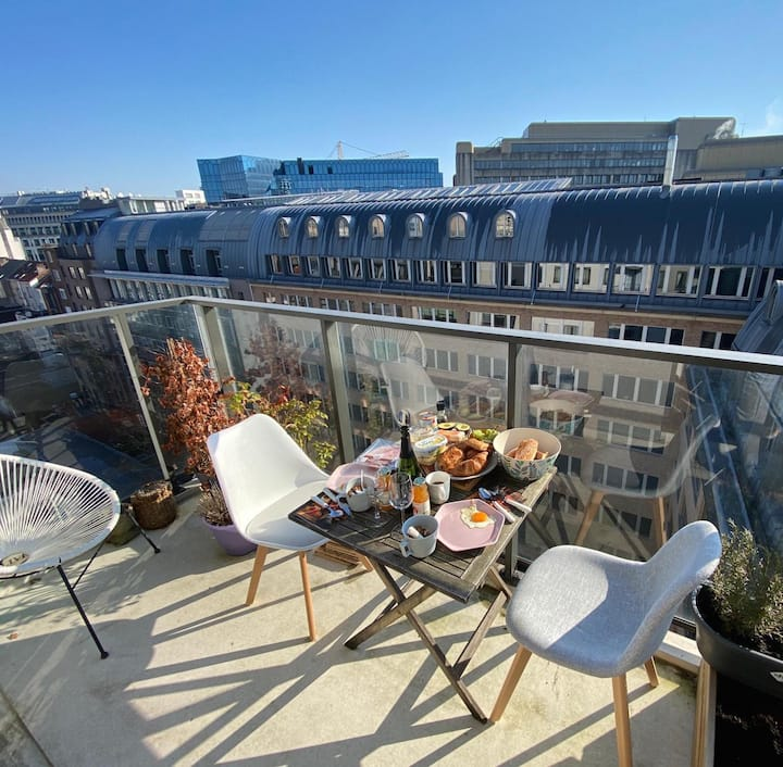 Cosy studio in the centre of Brussels!