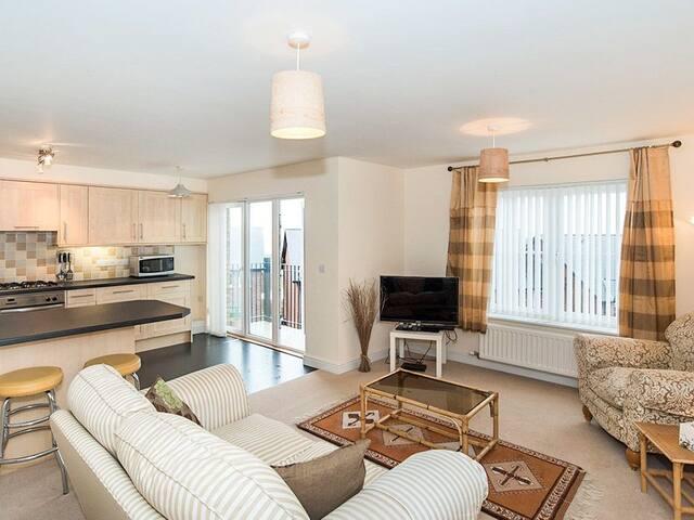 Stunning Apartment Overlooking the Cumbrian Coast