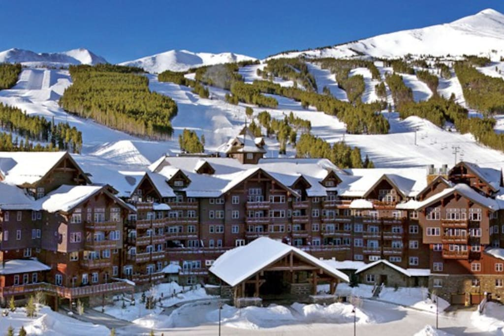 The Grand Lodge is Ski in/Ski out on Peak 7 in Breckenridge.