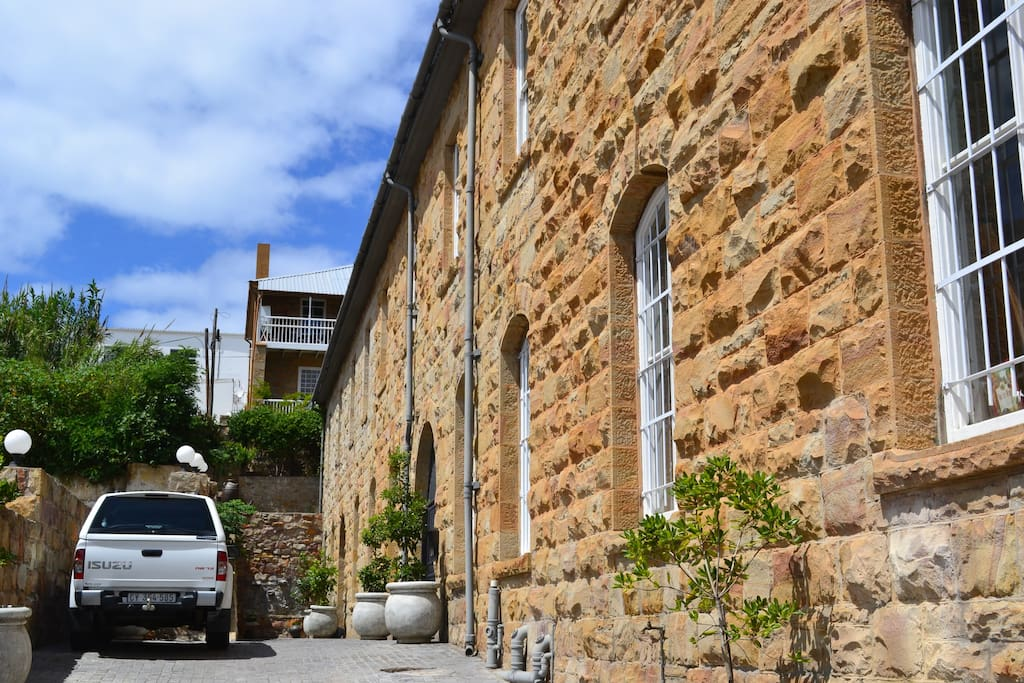 Historic stone buildings are characteristic of Mossel Bay. Spend time in one