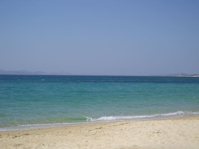 On a magnificent sandy beach - Mikri Vigla - Ház
