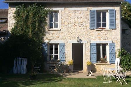 Jolie maison d artiste en normandie - Saint-Pierre-d'Autils - Casa