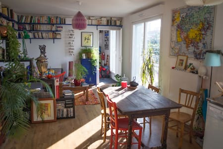 Beautiful flat 2 bedrooms, terrace - Ivry-sur-Seine