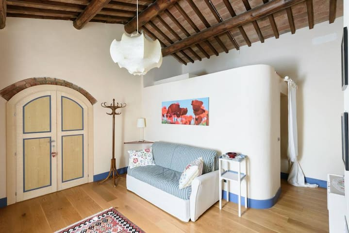 private living in Ginestra suite with double sofa bed
