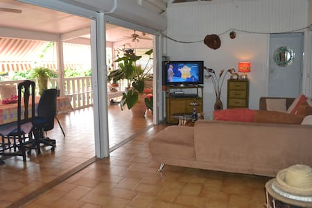 Spacious doubled bed room -Caribean - Schœlcher