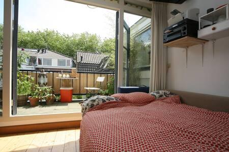 Comfortable bright house, Utrecht Central - Utrecht - Bed & Breakfast