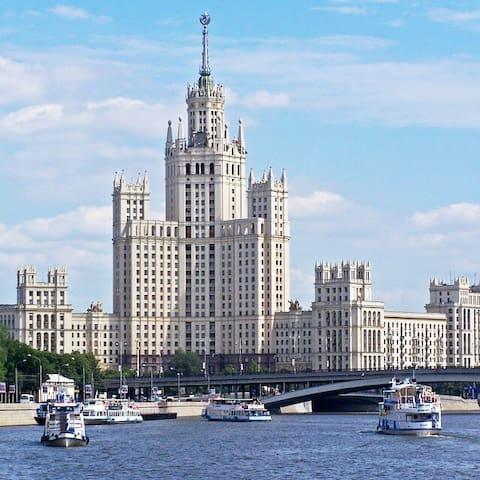 Premium apartment near Red Square