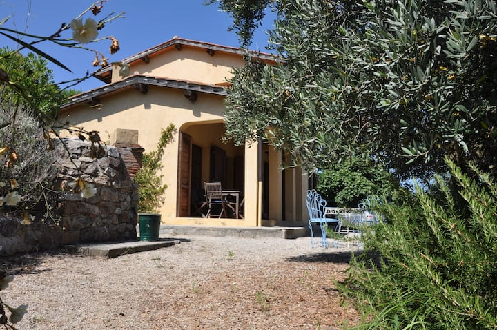 Exclusive Villa amazing panorama and garden Elba